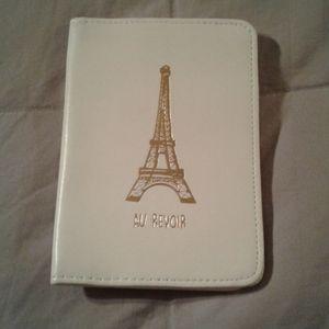 Lauren Conrad Leather Eiffel Tower Passport Holder